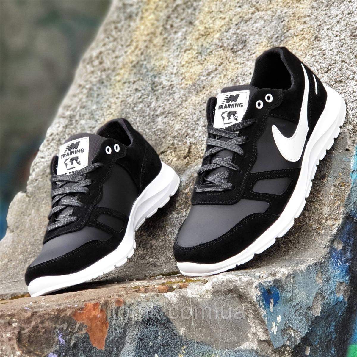 ada32995 Мужские кроссовки кожаные черные (Код: 1382а): купить в интернет ...