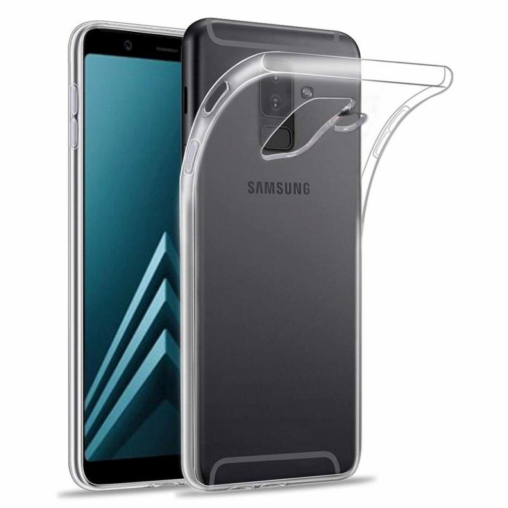 Чехол для моб. телефона Laudtec для Samsung A6 Plus 2018/A605 Clear tpu (Transperent) (LC-A605F)