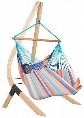 Гамак-стул со стойкой La Siesta DOL213VEA161, голубой