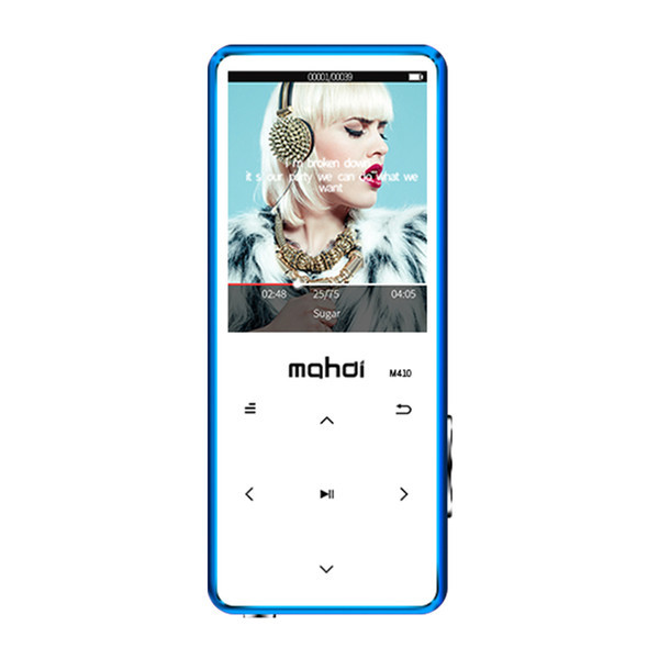 MP3 Плеер Mahdi M410 8Gb Bluetooth Синий
