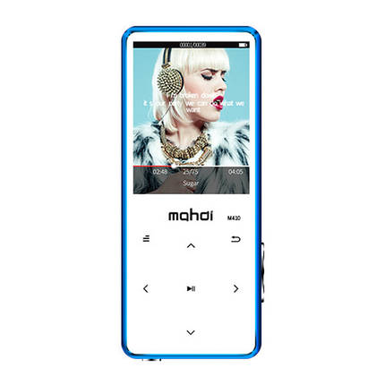 MP3 Плеер Mahdi M410 8Gb Bluetooth Синий, фото 2
