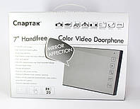 Цветной домофон JS 728, домофон зеркальный 7 дюймов, домофон с сенсорной панелью, домофон в квартиру