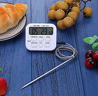 Цифровой термометр Тa278 с выносным датчиком до 300 градусов, фото 1