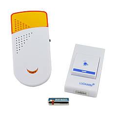 Беспроводной дверной звонок от розетки 220V Luckarm Intelligent A8603 Yellow