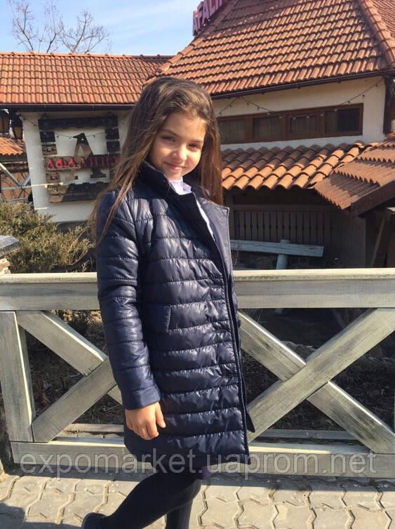 Пальто для девочки стильное