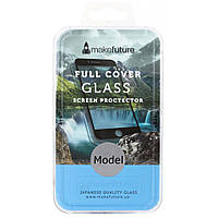 Стекло защитное MakeFuture для Huawei P8 Lite 2017 Black Full Cover Full Glue (MGFCFG-HUP8L17B), фото 1