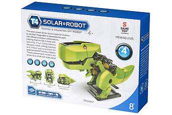 Робот-конструктор Same Toy Динобот 4 в 1 на солнечной батарее