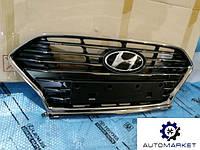 Решетка радиатора Hyundai Sonata 2017-