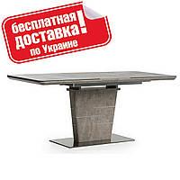 Стол обеденный TML-540 Серый бетон 140/180х80 см.