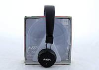 Bluetooth стерео наушники NIA X2 Беспроводные с МР3 и FM