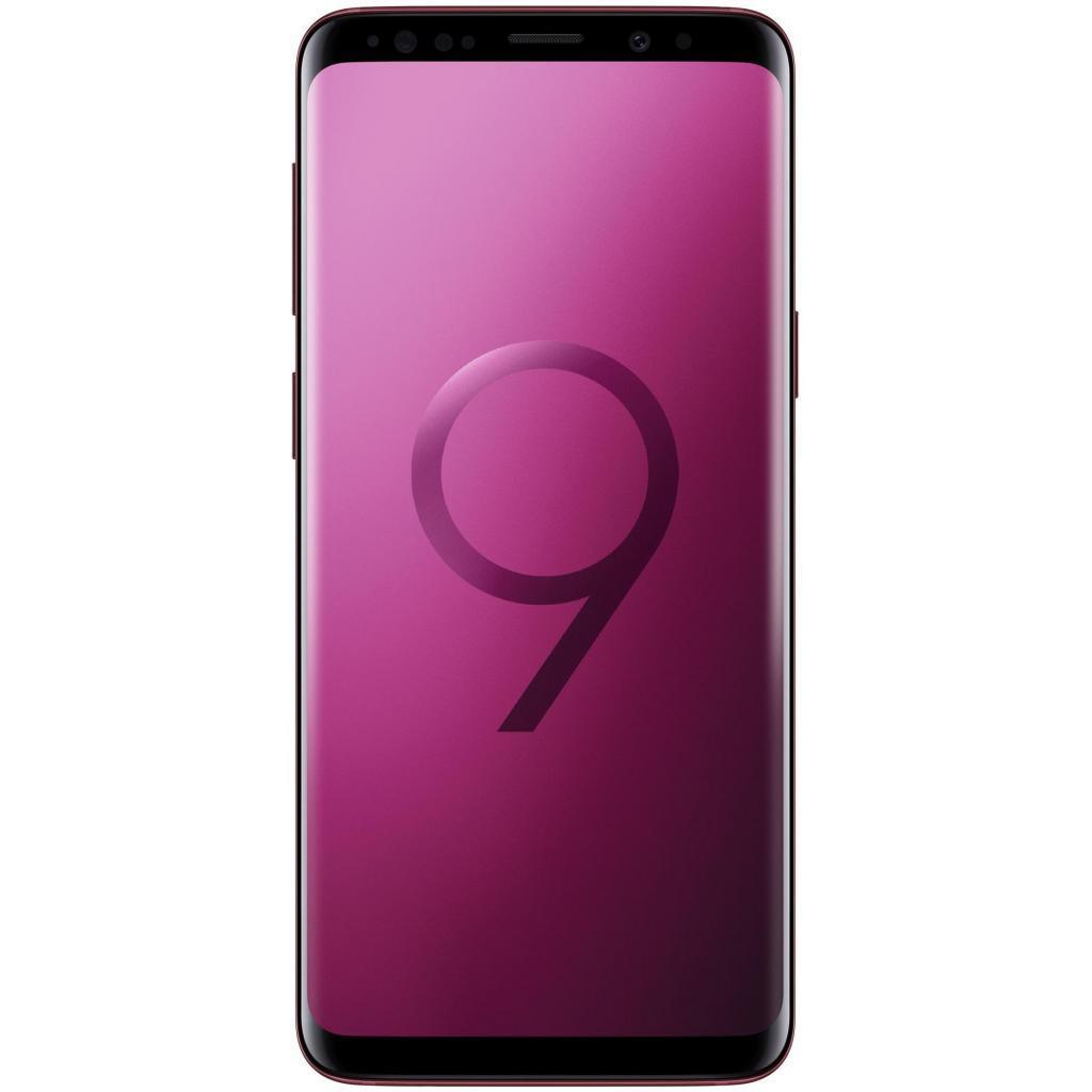 Мобильный телефон Samsung SM-G965F/64 (Galaxy S9 Plus) Red (SM-G965FZRDSEK)