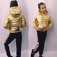 Куртка детская модная для девочки весна-осень, фото 1