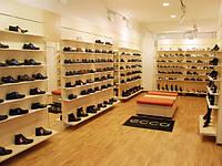 Торговое оборудование для обувных магазинов