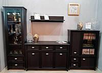 Мебельная стенка Гермес Гербор Дуб болотный коричневый
