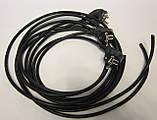 Шнур универсальный ГОСТ ПВС 3*1.5мм.1.5м. чёрный., фото 2