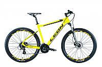 """Велосипед 27.5"""" Leon XC-80 AM Hydraulic lock out 14G HDD Al 2019 (желтый)"""