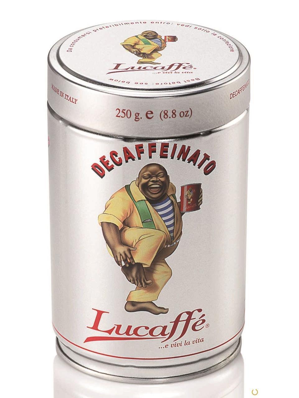Кофе в зернах Lucaffe Decaffeinato 250 г