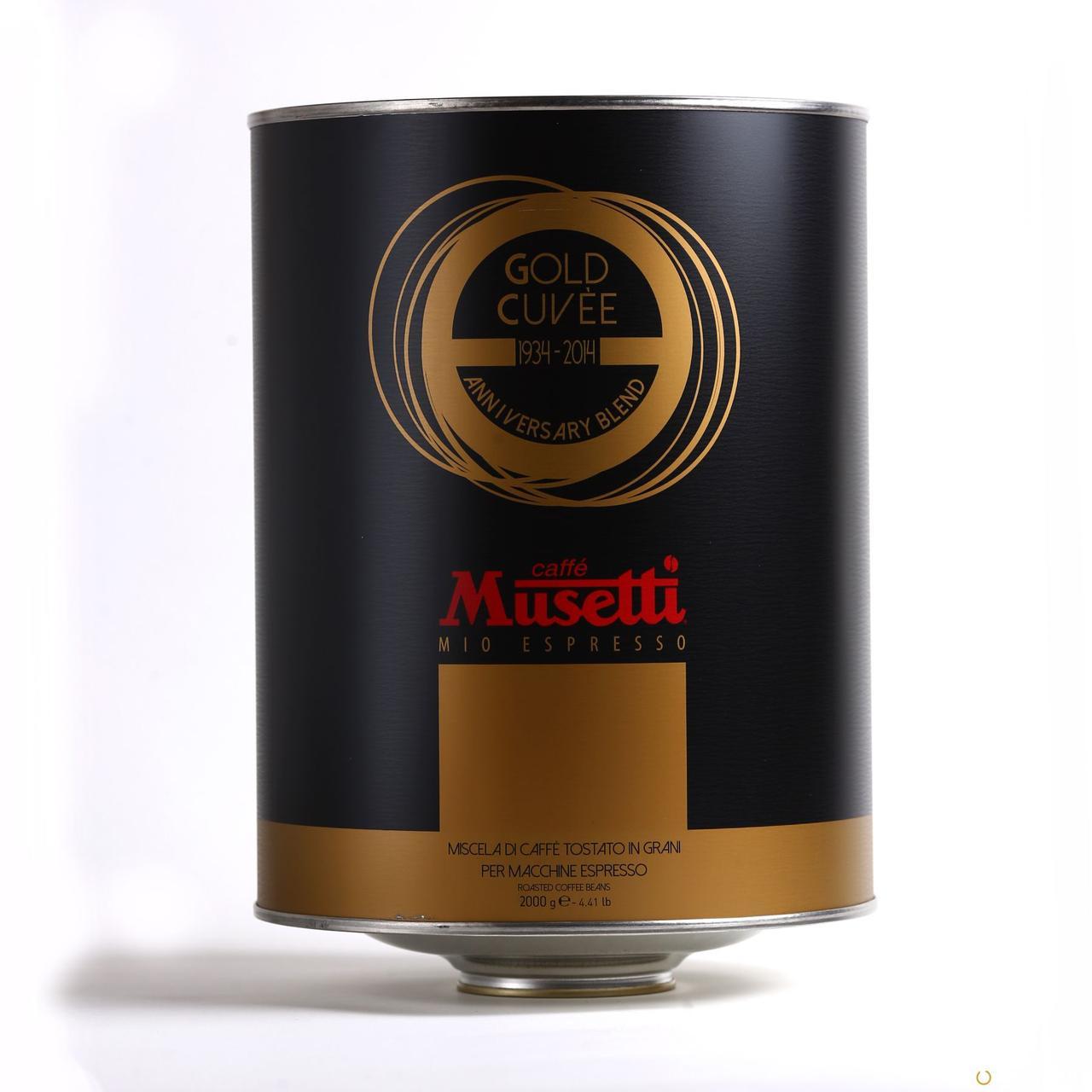 Кофе в зернах Caffe Musetti Gold Cuvee 2 кг