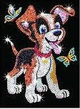 Набор для творчества Sequin Art RED Oscar Puppy SA0907