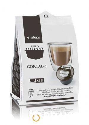 Кофе в капсулах Gimoka Cortado 16шт