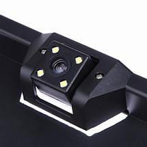 Камера заднего вида в автомобильной рамке номера HD-105, фото 2