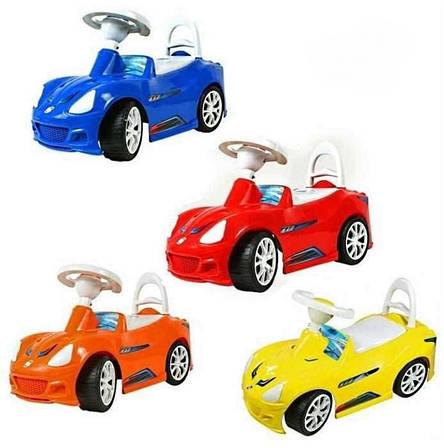 Машинка-каталка детская Спорт-кар Орион цвета в ассортименте, фото 2