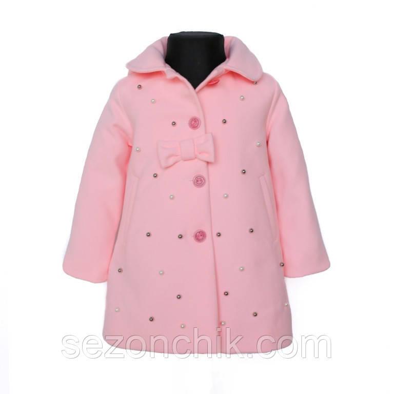 Детские кашемировые пальто нежные цвета
