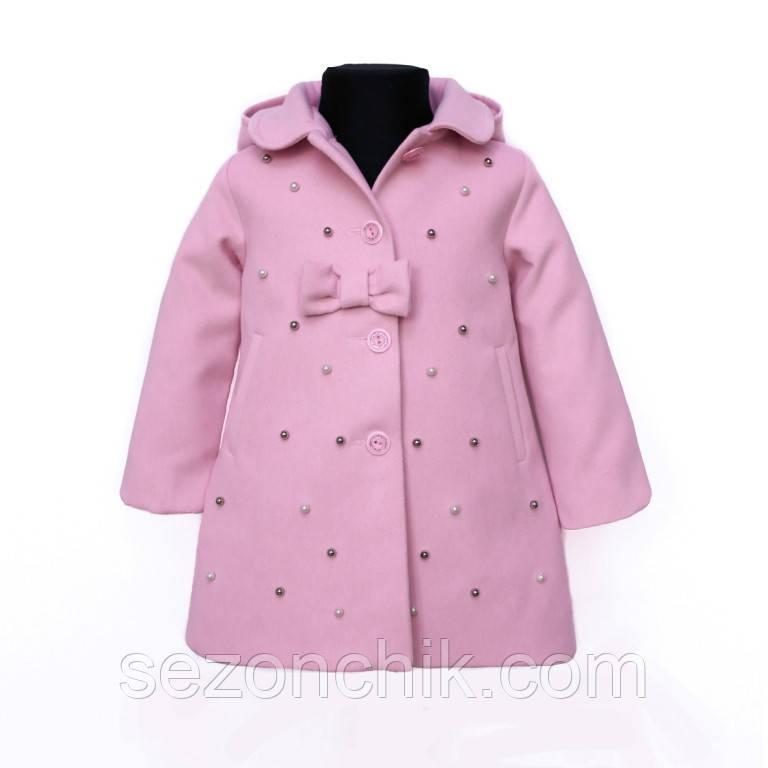 Красивое детское пальто на девочку весна осень