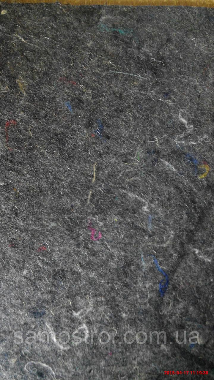 Войлок (черный) 180 плотность