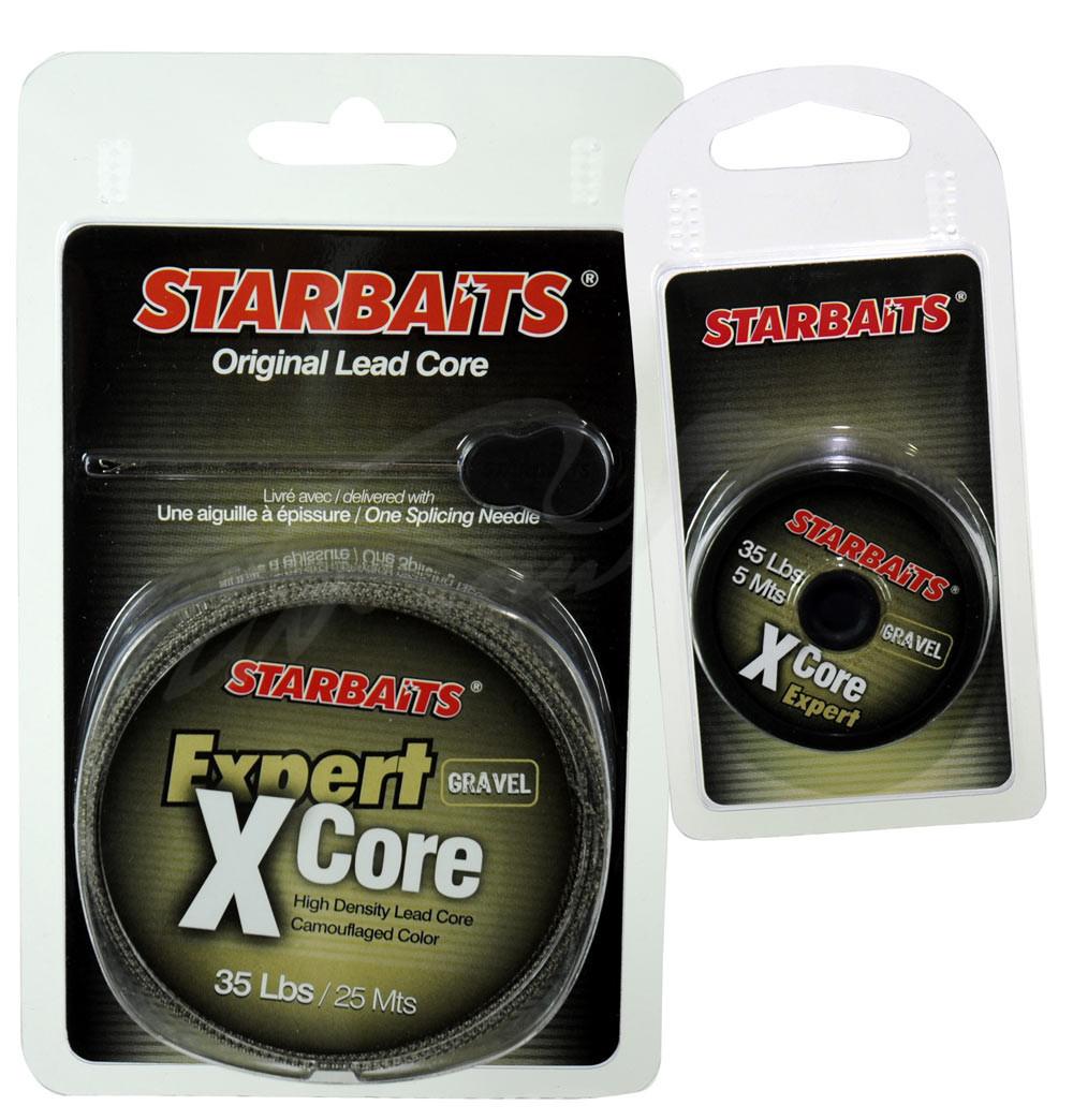 Поводковый материал Starbaits X-CORE Gravel 45LB, 25м
