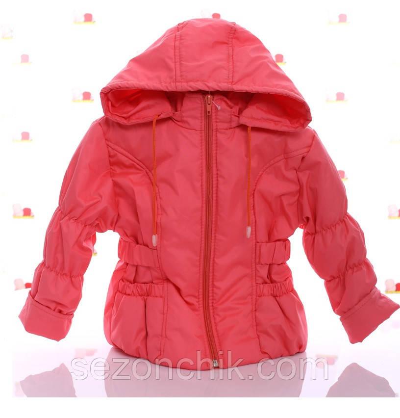 Детские легкие куртки на девочек яркие недорого