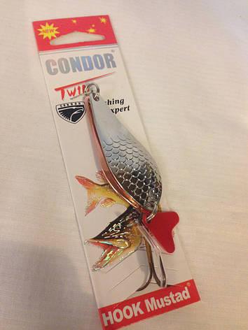 """Блесна Condor два """"лепестка"""" 24gr, фото 2"""