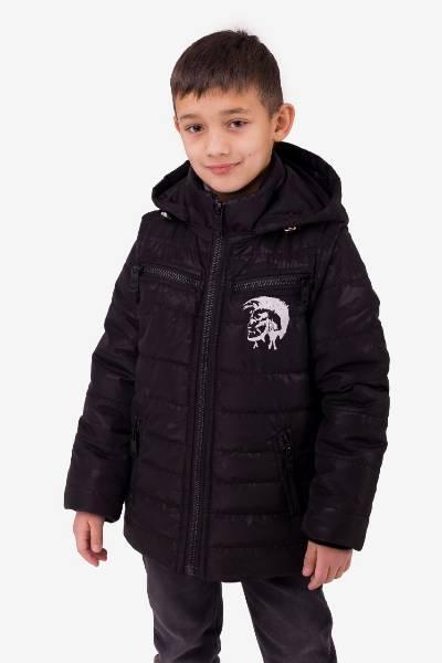 Демисезонная  куртка - жилетка  для мальчика подростка