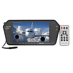 "Монитор для камеры заднего вида на зеркало 7"" 719 BT/USB/TF/MP5"