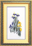 Набор для вышивки лентами «Весенние цветы»