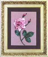 Набор для вышивки лентами «Роза»