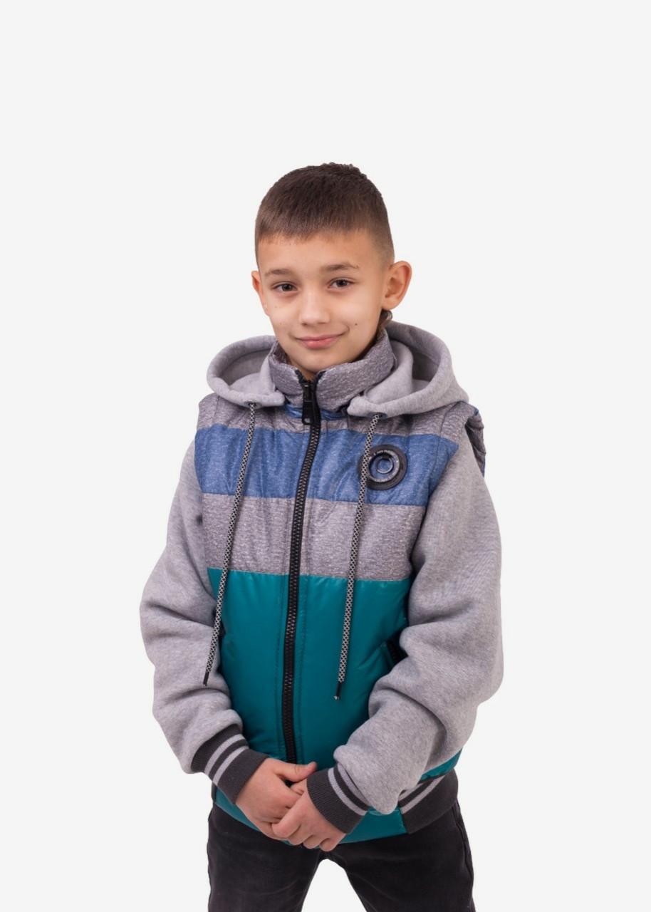 Демисезонная  куртка  жилетка  для мальчиков подростков