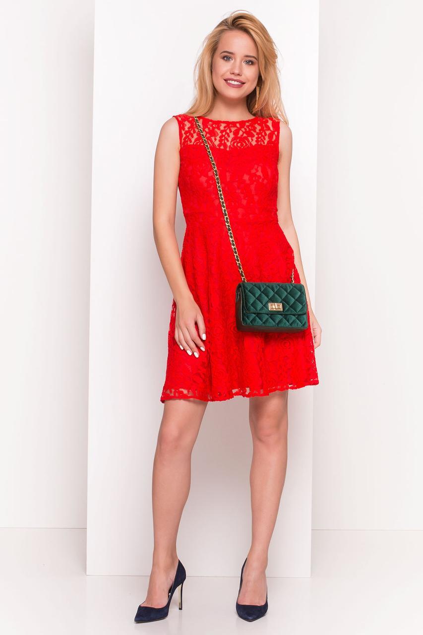a8e82a6e3b63 Летнее женское платье мини Ермия