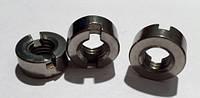 DIN 546 Гайка круглая шлицевая, аналог ГОСТ 11871 от М 1.4 до М 12
