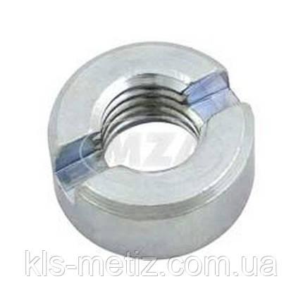 DIN 546 Гайка круглая шлицевая, аналог ГОСТ 11871 от М 1.4 до М 12, фото 2