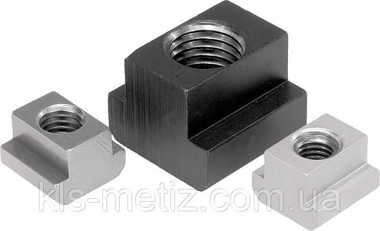 Гайка для Т-образных пазов, стальная DIN 508 от М 4 до М 24