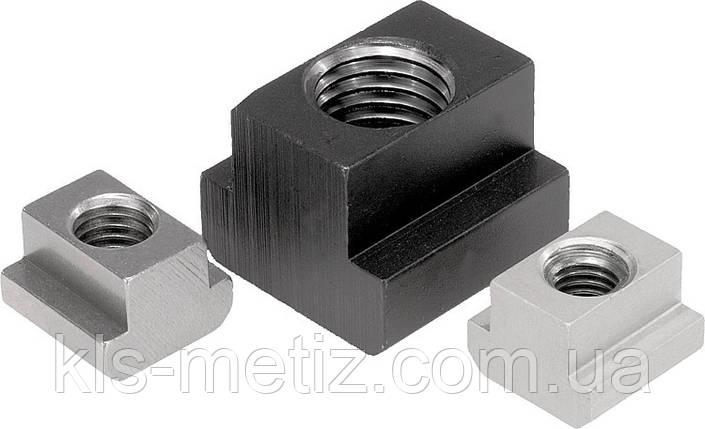 Гайка для Т-образных пазов, стальная DIN 508 от М 4 до М 24, фото 2