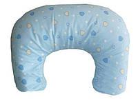 """Подушка для кормления ребенка """"Мини-П"""" Marselle шарики полистирол (47 х 62 см)"""