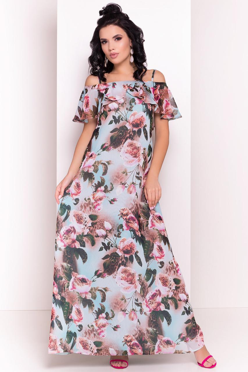 f45a81e34a645 Женское летнее платье в пол Пикабу: продажа, цена в Виннице. платья ...