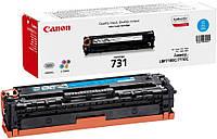 Заправка картриджа Canon 731 cyan для принтера i-SENSYS LBP7100Cn, LBP7110Cw, MF8230Cn, MF8280CW