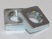 Гайка квадратная низкая, стальная DIN 562  от М 1.4 до М 12