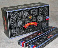 Супер хит (Super hit Incense 15 gms) L = 20,5 см