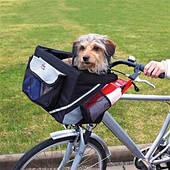Сумка-переноска Trixie 1299 для велосипеда для кошек и собак до 6 кг 38*25*25