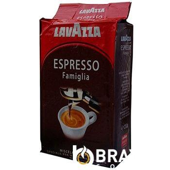 Молотый кофе LAVAZZA ESPRESSO FAMIGLIA (250г)
