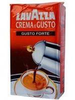 Молотый кофе LAVAZZA CREMA e GUSTO GUSTO FORTE (250г)